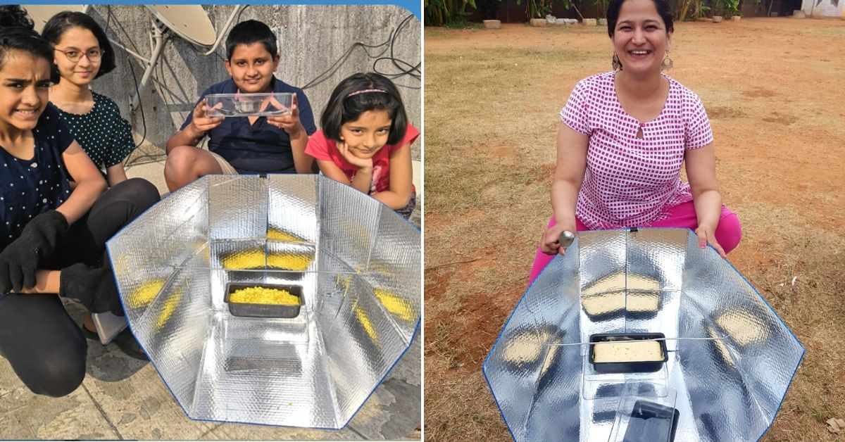Learn to Build Solar Cookers from IITian Who Quit His Job to Teach 1.2 Lakh Kids