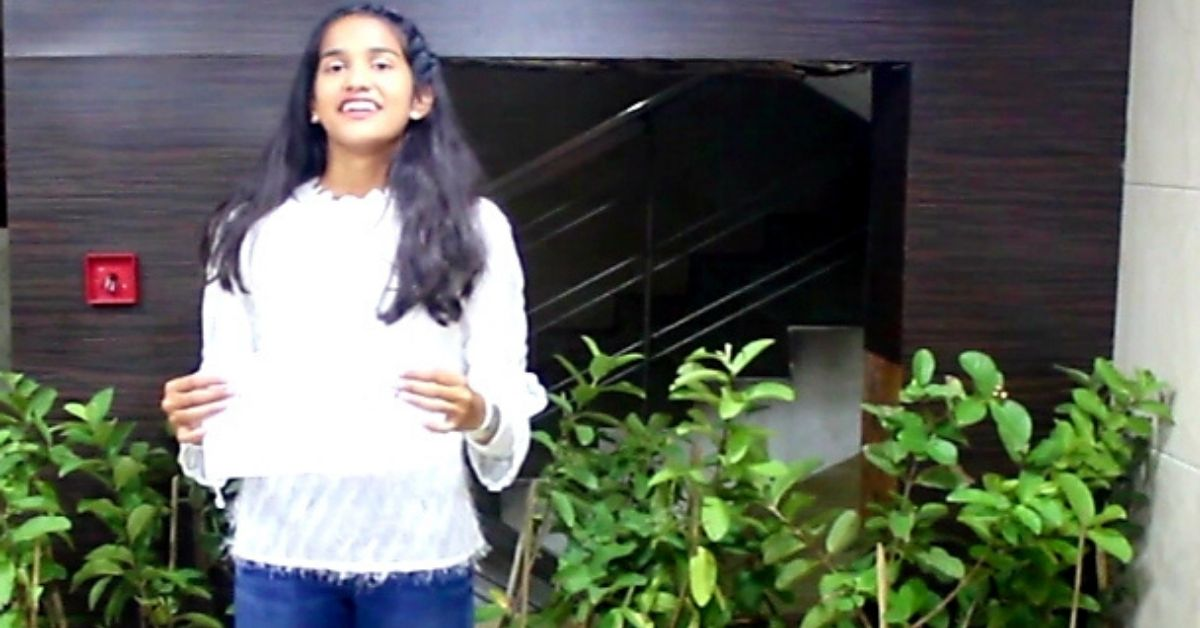 15-YO Hyderabad Girl Celebrates Birthday Right, Plants 150 Trees!