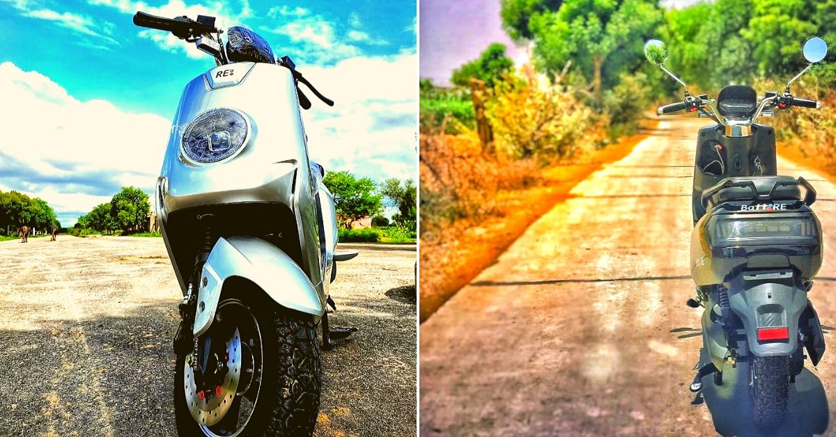 With Batteries That Last Twice As Long, Jaipur Startup Launches Unique E-Scooter