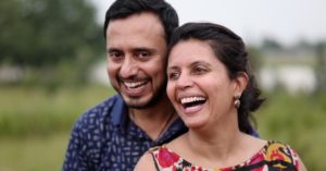 Hyderabad couple Singapore return India good forest farm to table cafe