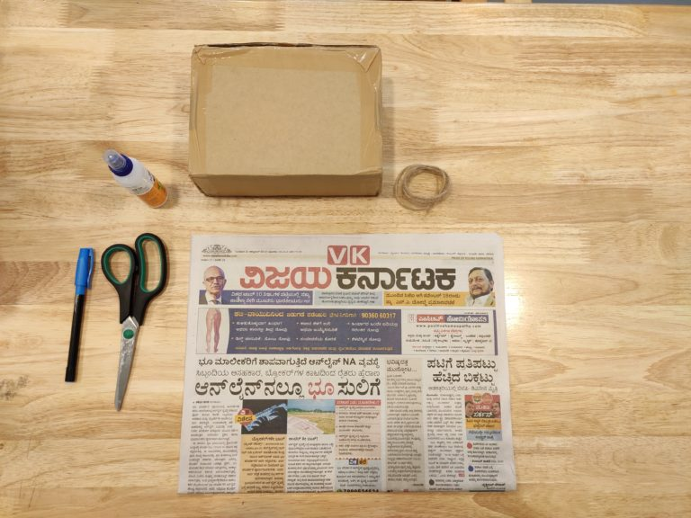 how to make recycled paper bag