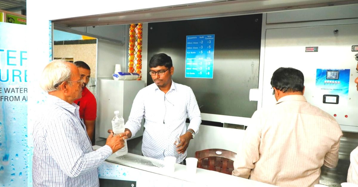 Railway Station in Telangana Sells Drinking Water Made From Thin Air at Rs 5/Litre!