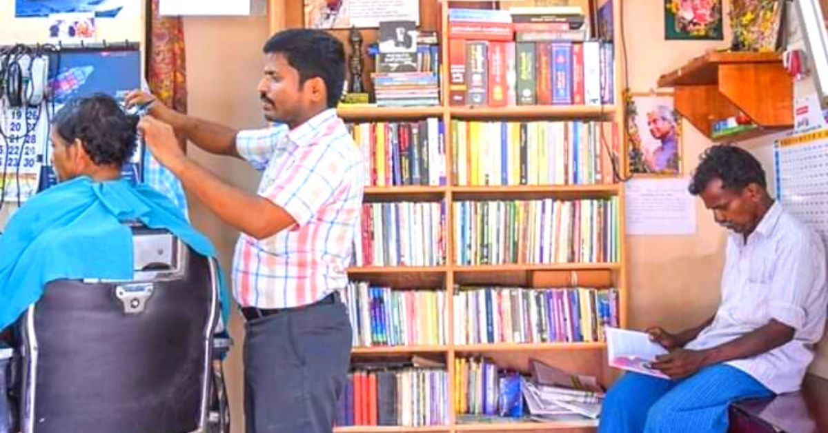 TN Barber Gives Customers 30% Off If They Read a Book In His Unique Salon