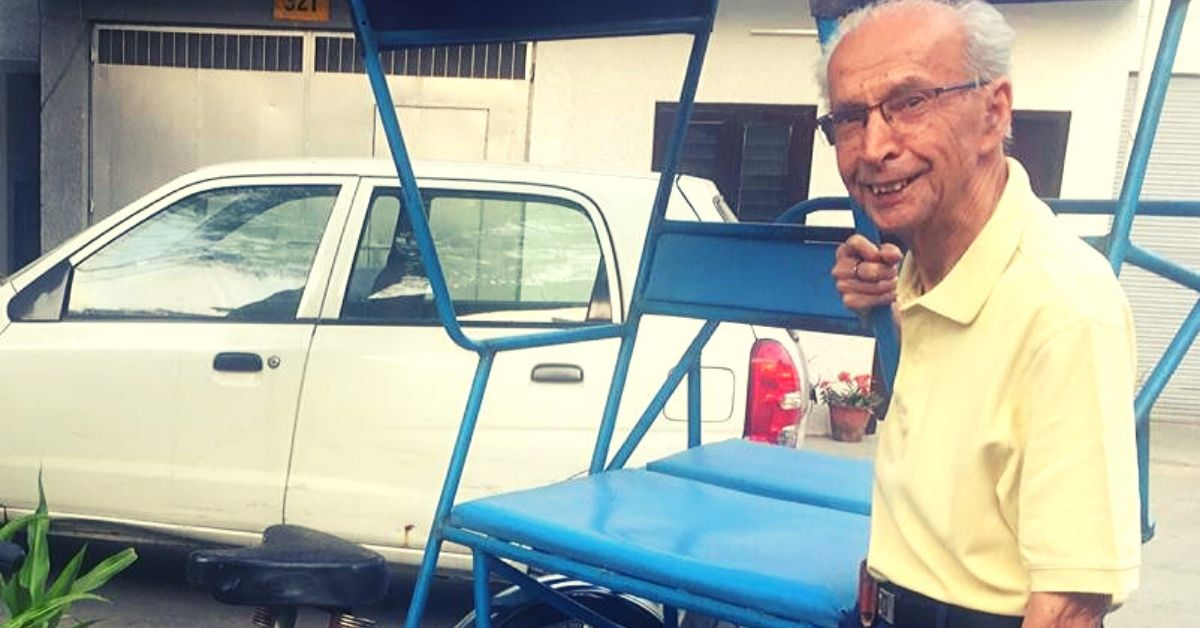89-YO From Noida Has a Simple Solution For This Everyday Problem Faced By Elders