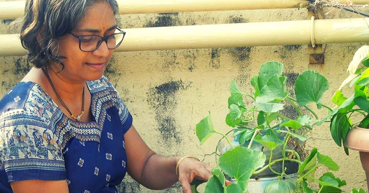After Friend's Son Gets Cancer, Mumbai Lady Grows Food Forest in 3×6 Ft Balcony!