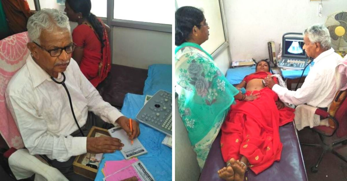 Once Unable to Afford Education, This 79-YO Doctor Now Heals For Just Rs 10!