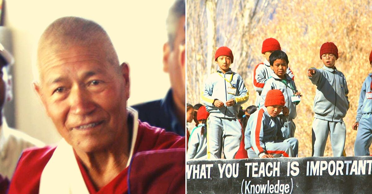 How 1 Ladakhi Monk Shaped the Future of 1000s of Underprivileged Kids