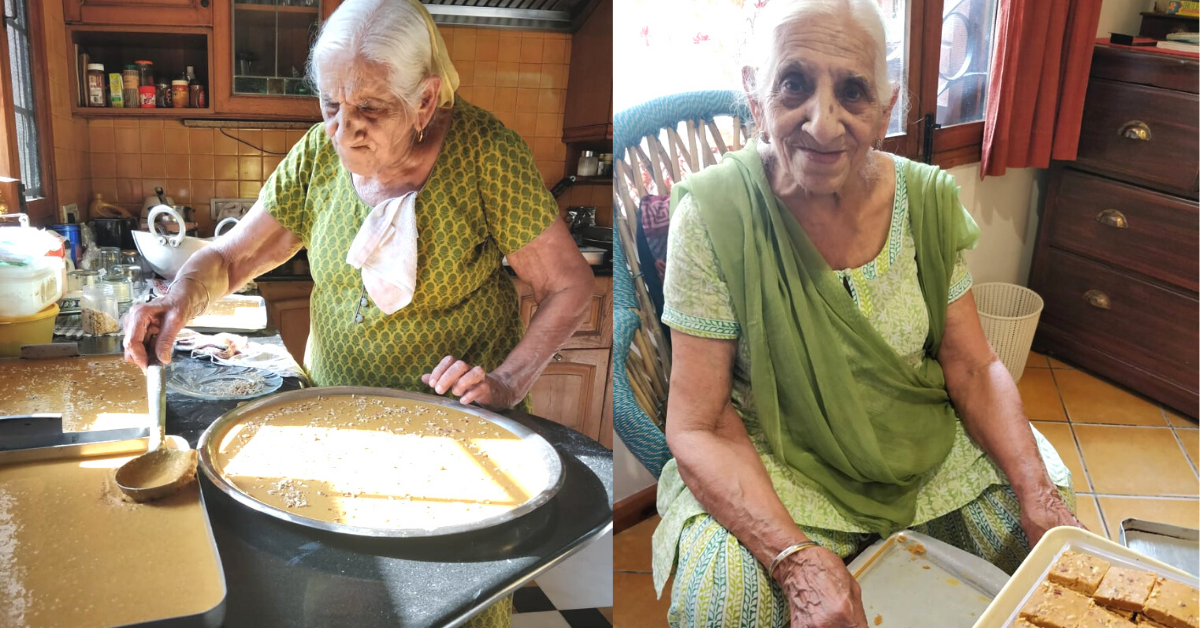 At 90, This Chandigarh Grandma Launched Her Startup With 'Besan Ki Barfi'!