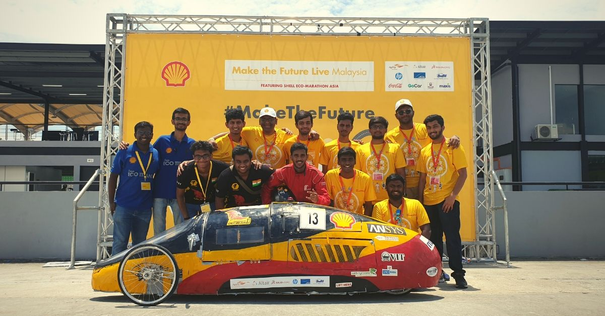 129 Km in Just 1 Litre Petrol: VIT Students May Just Have Built the Car of the Future!