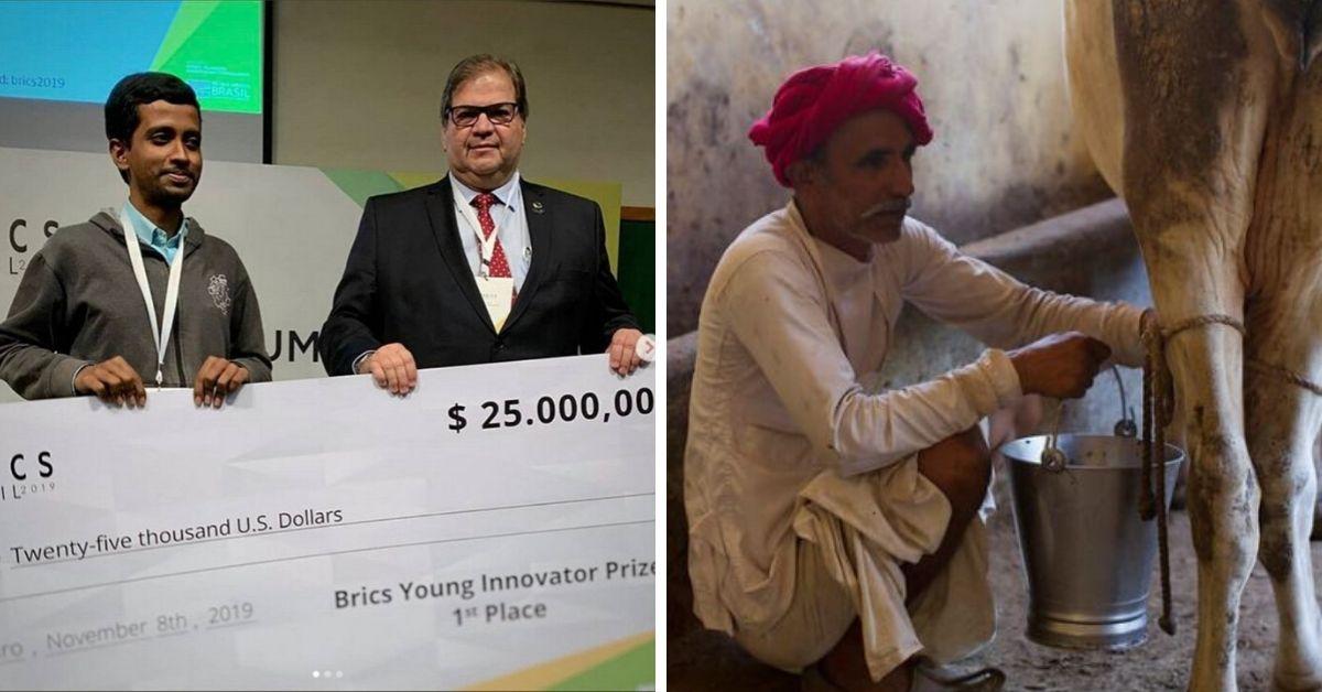 Bihar Engineer Invents Indigenous Milk Chilling Unit, Wins USD 25,000 from BRICS!