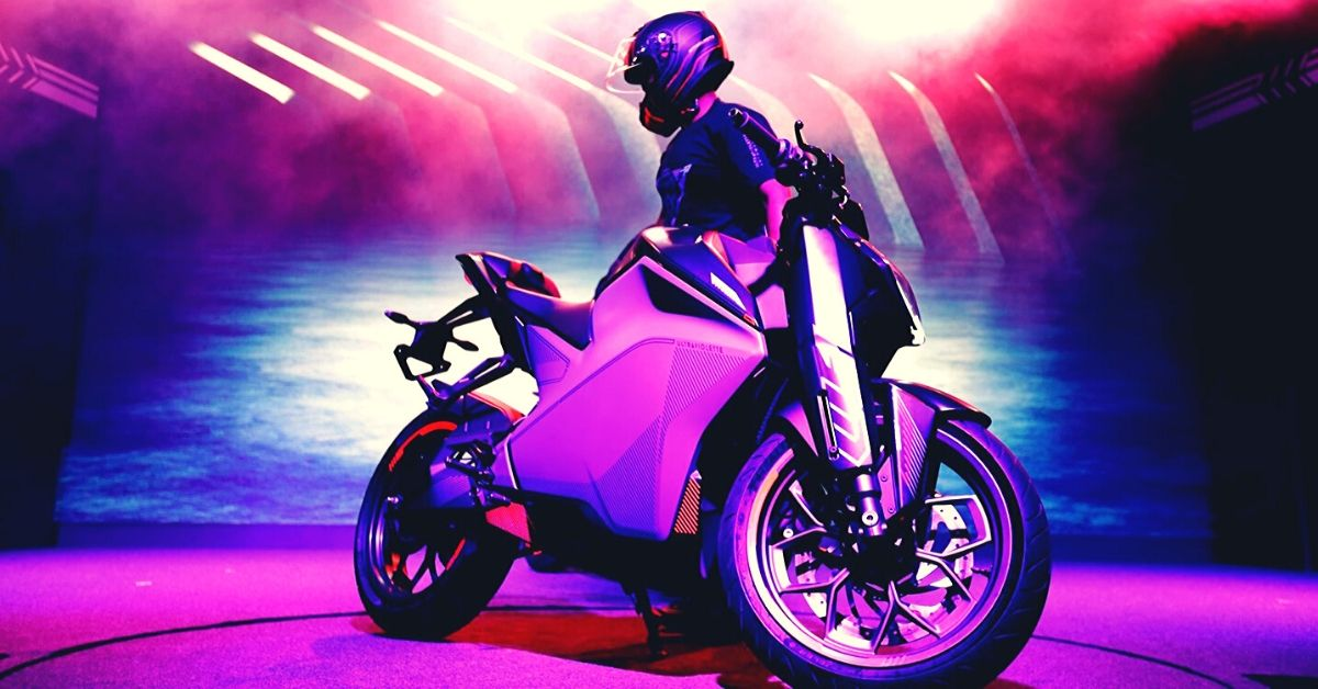 0-60 Kmph in 2.9 Secs: B'luru Startup's eMotorcycle Can Out-Perform Petrol Counterparts!
