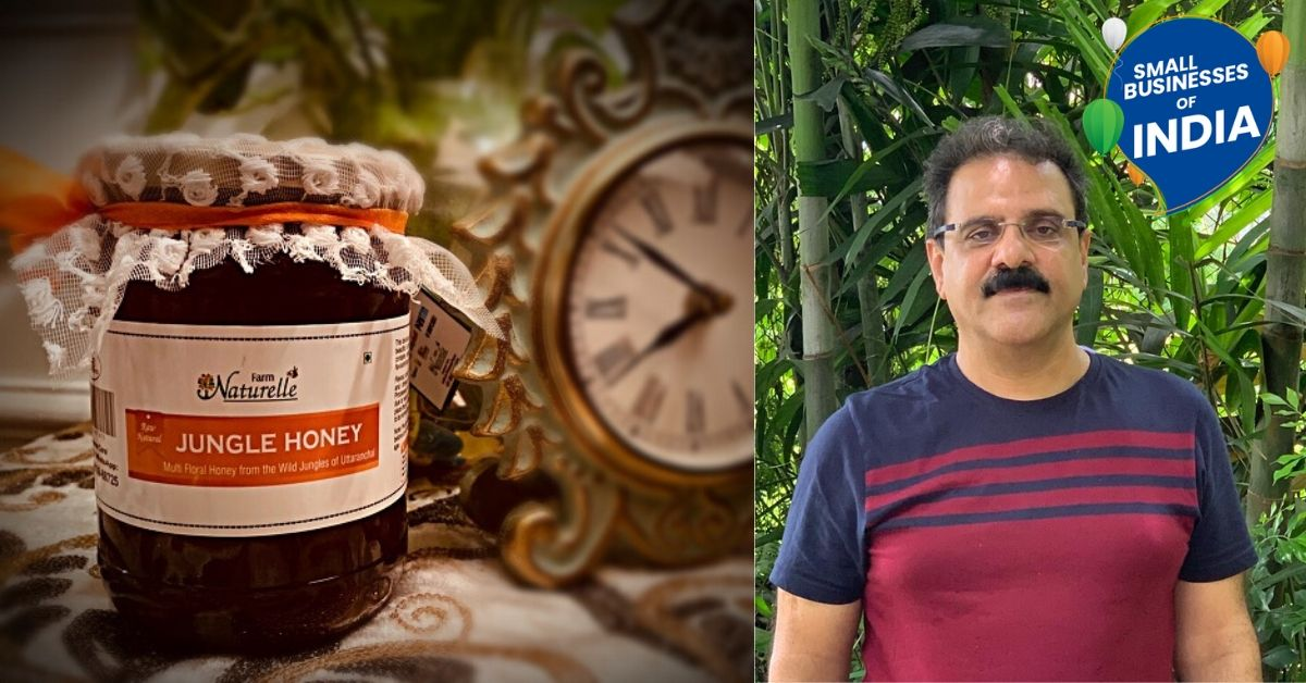 Mechanical Engineer Switches Gears To Organic Honey, Sells Over 60 Tons in a Year