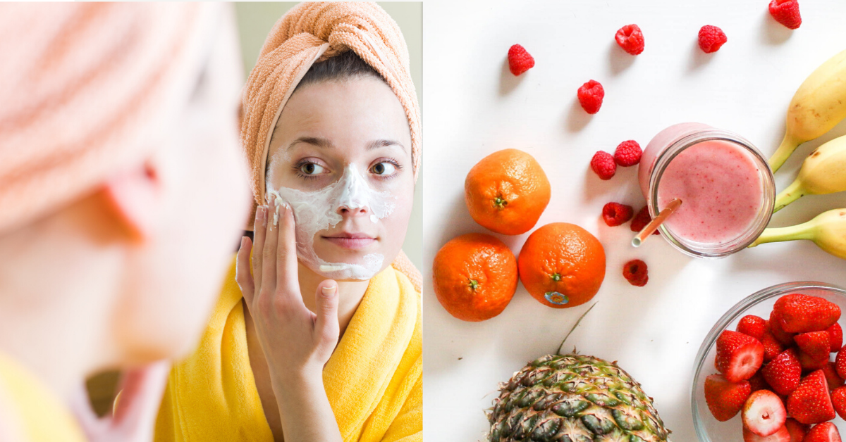 No Chemicals, Only Pulp: 5 Fruits Science Says Your Face Needs
