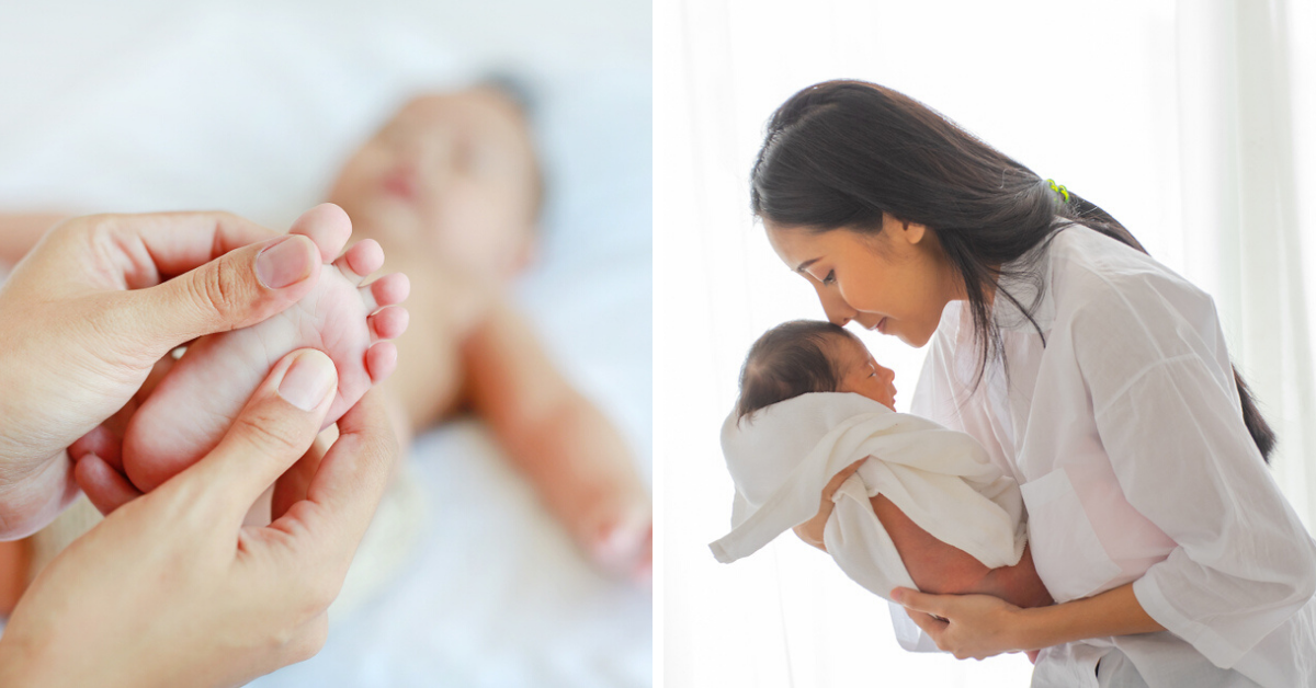 This Natural Post-Bath Routine Keeps Your Baby Happy & Relaxed in Just 4 Steps