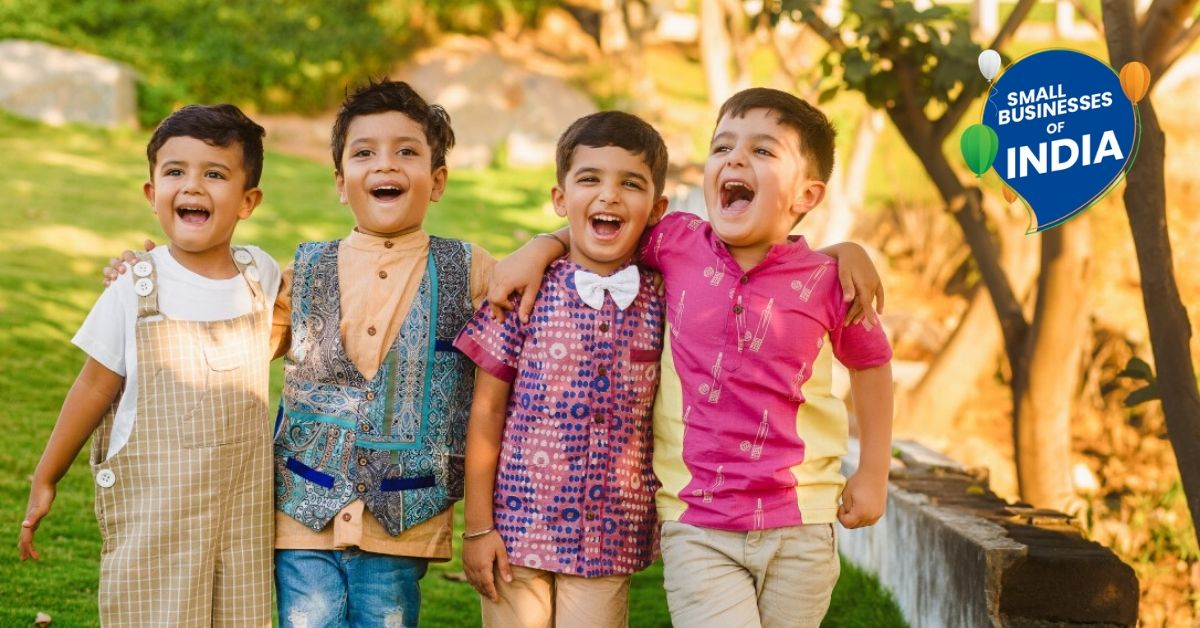 Hyderabad Mums Make Traditional Children's Clothes That Empower 100+ Artisans