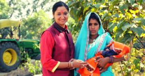Madhya pradesh woman sarpanch return usa transform village inspiring india jov30