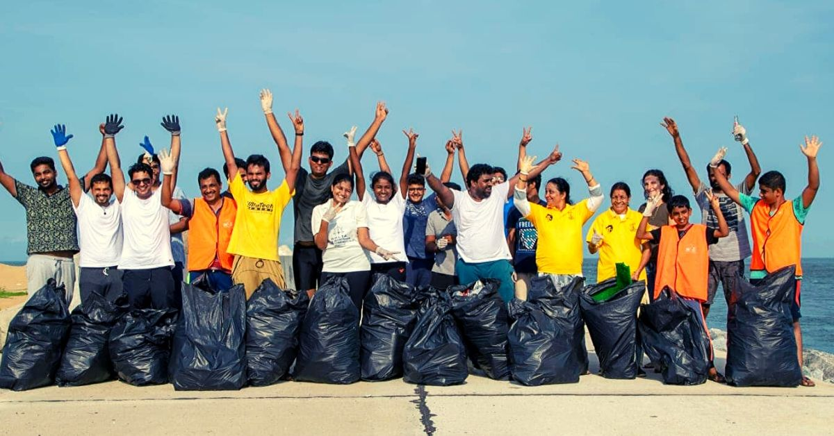 Town Residents Unite To Save Heritage, Clear Stunning 25 Tons of Waste From Beach