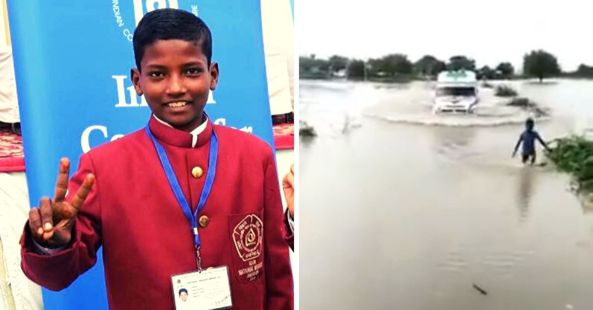 Meet the 12-YO Who Risked His Life to Guide an Ambulance Across a Flooded Bridge