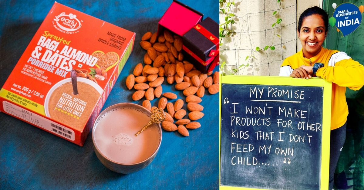 Pune Mom's Homemade Millet-Based Baby Food Now Gets Her Over 30,000 Orders a Month