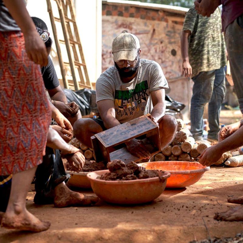 Auroville natural architecture workshop