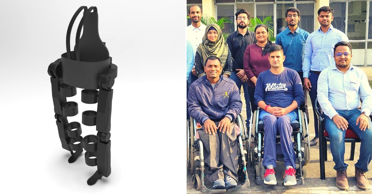 Delhi Startup's AI-Powered Exoskeleton Can Help The Specially-Abled Walk Again
