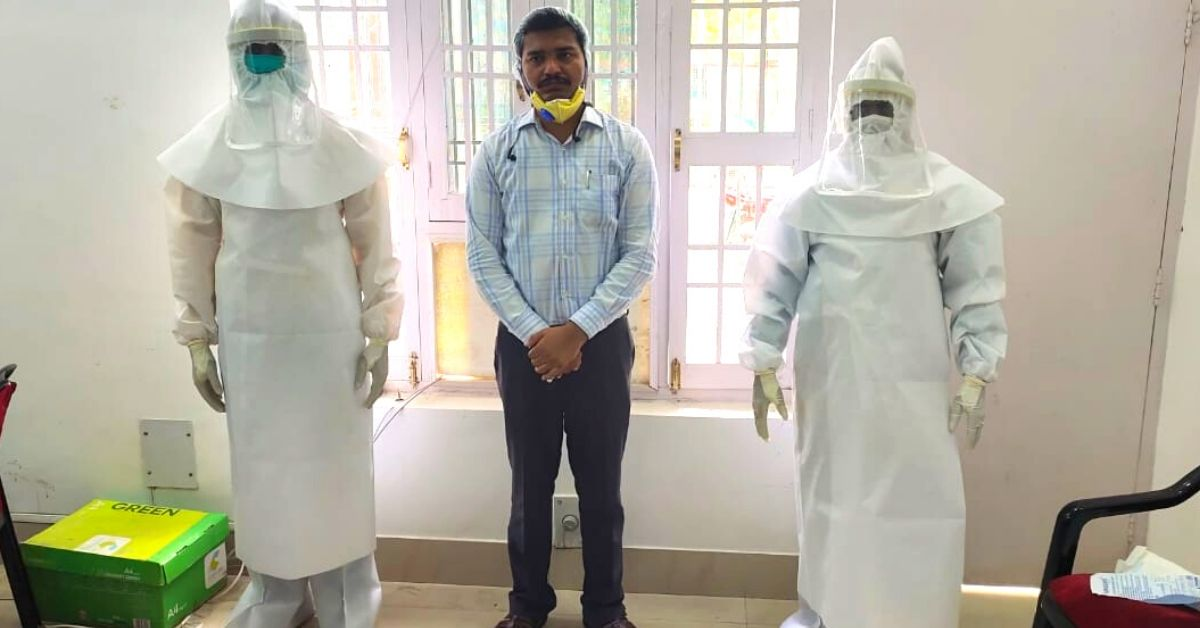 UP IAS Officer Creates Top-Quality PPE Kits At Half The Market Price!