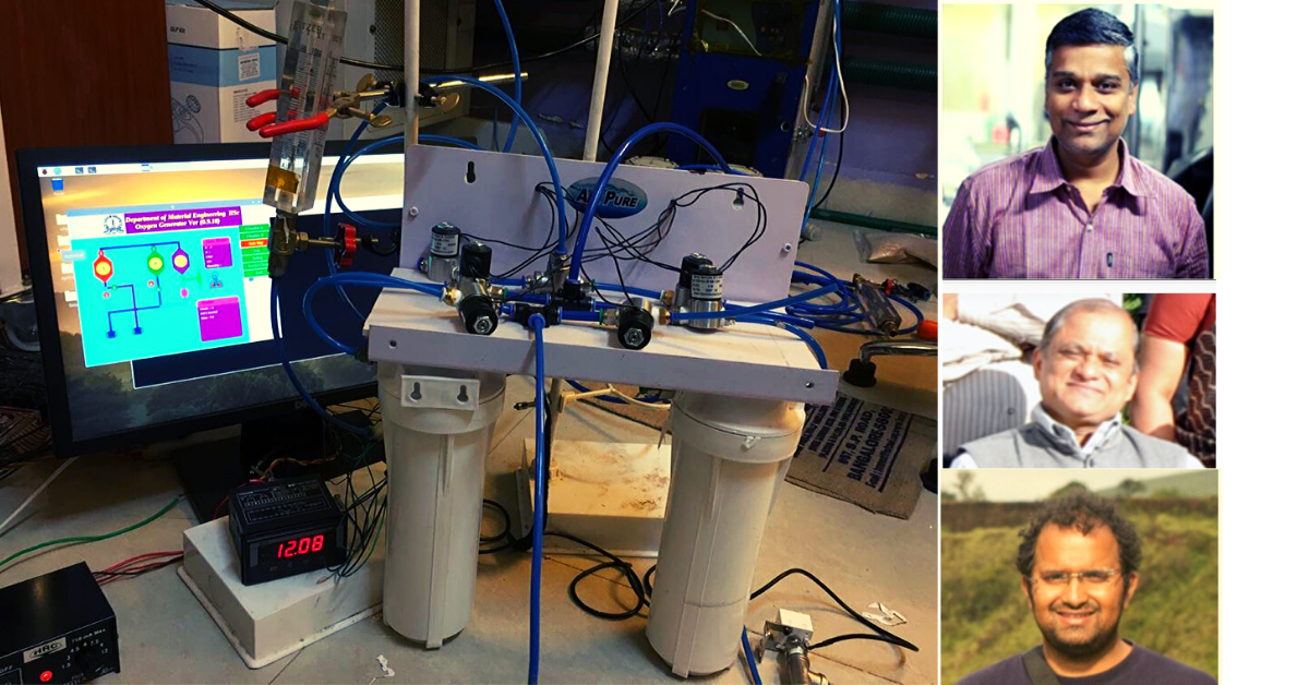 In One Week, IISC Scientists Develop Low-Cost Oxygen Generators to Fight COVID-19