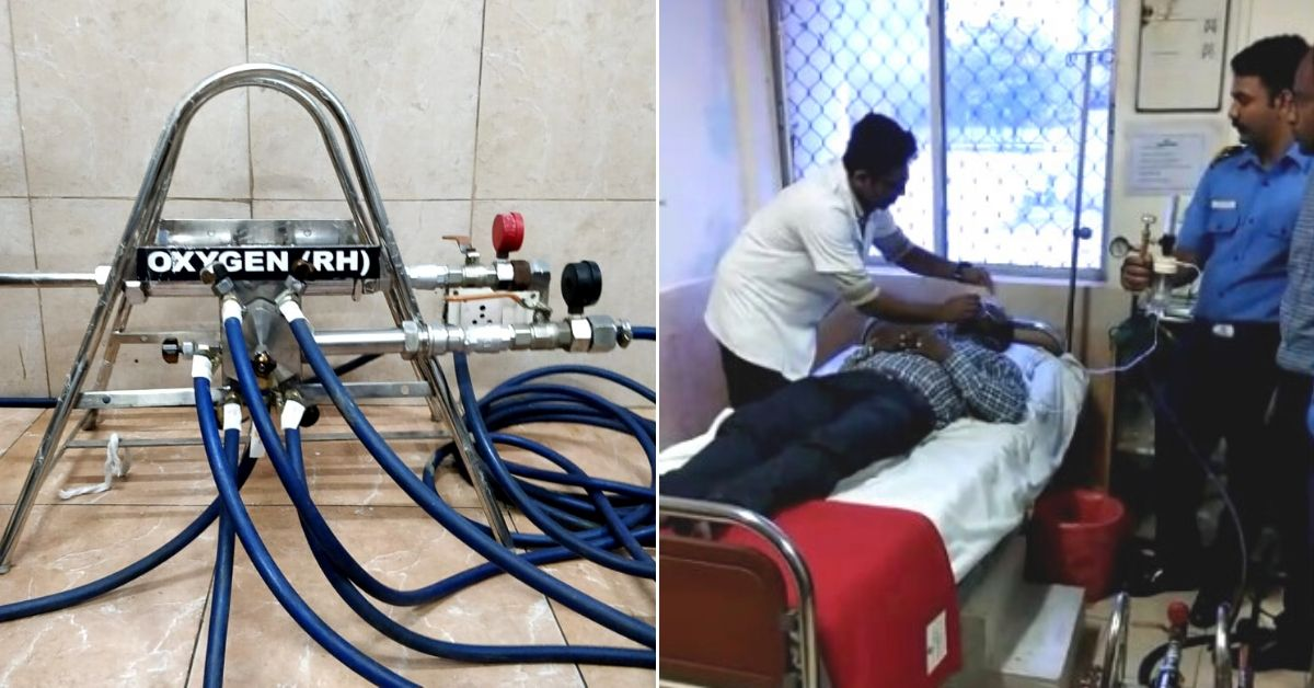 COVID-19: Indian Navy's Innovation Lets 1 Cylinder Supply Oxygen to 12 Patients!