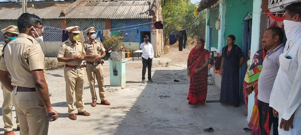Beed police covid-19
