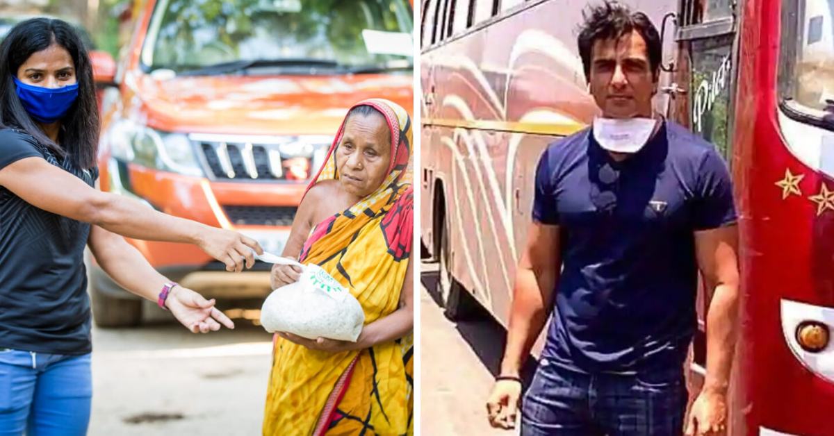 8 Celebrities Doing All They Can to Help The Needy During Lockdown