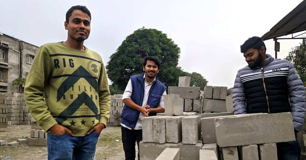 Made of 70% Waste, Startup's Bricks Keep Homes Cooler in Summer & Warmer in Winter