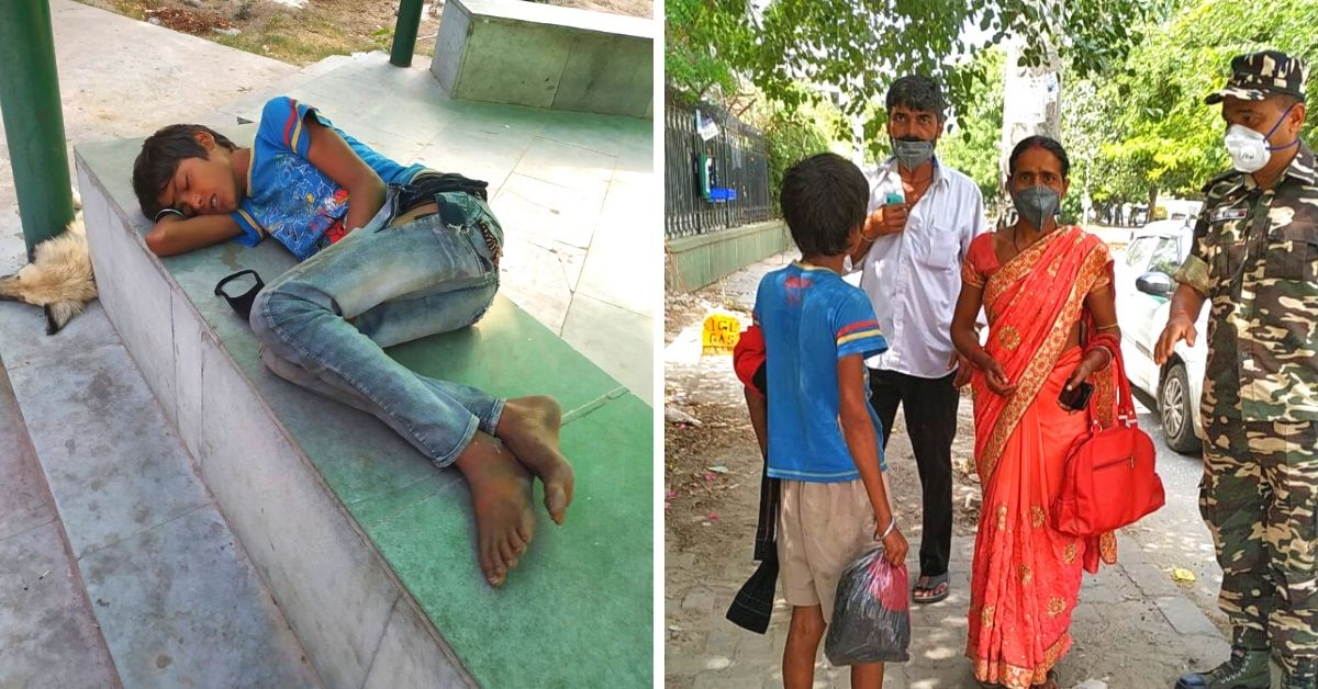 12-YO Boy Sleeps in Delhi Park for 45 Days, Reunited With Parents by Twitter!