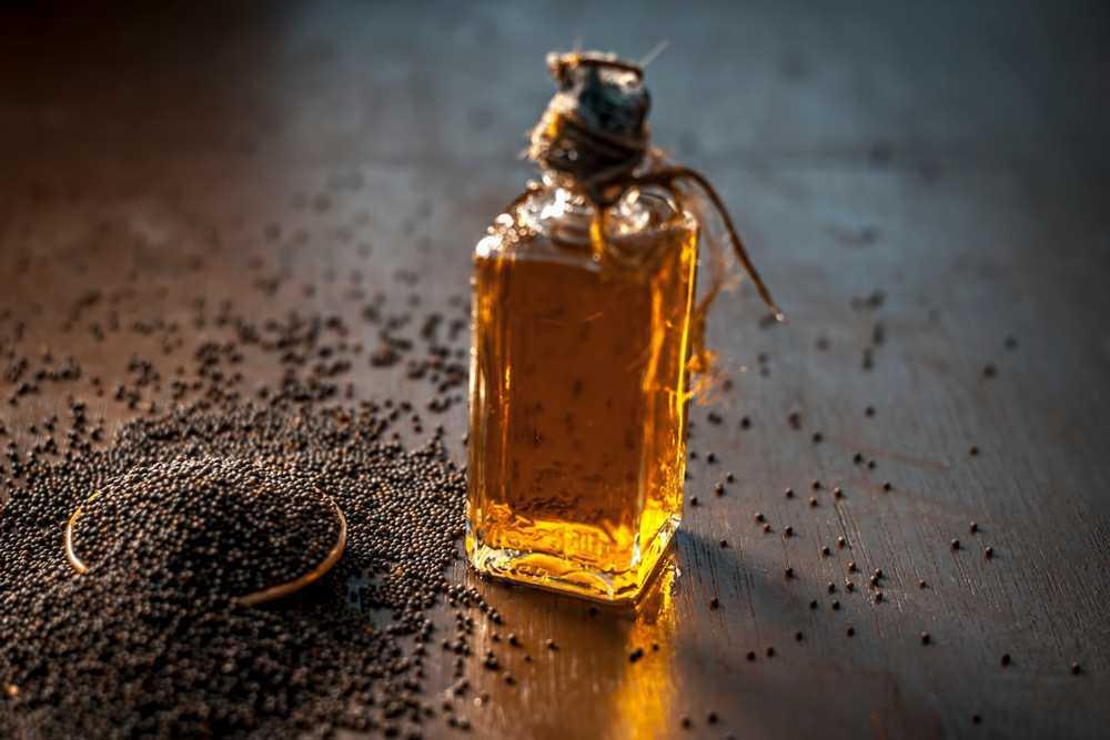 mustard vegetable oil