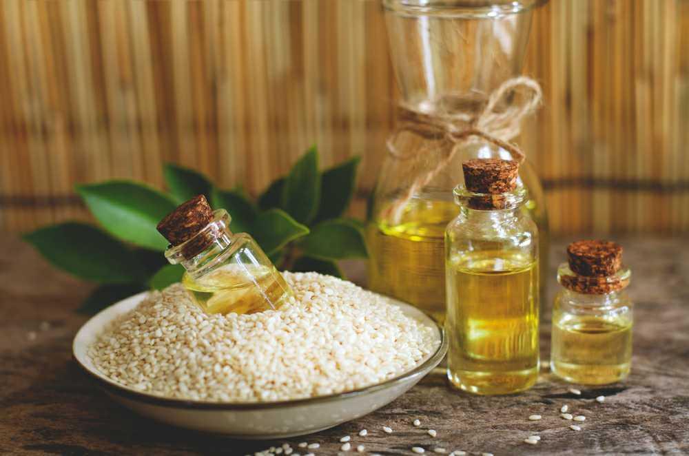 sesame vegetable oil