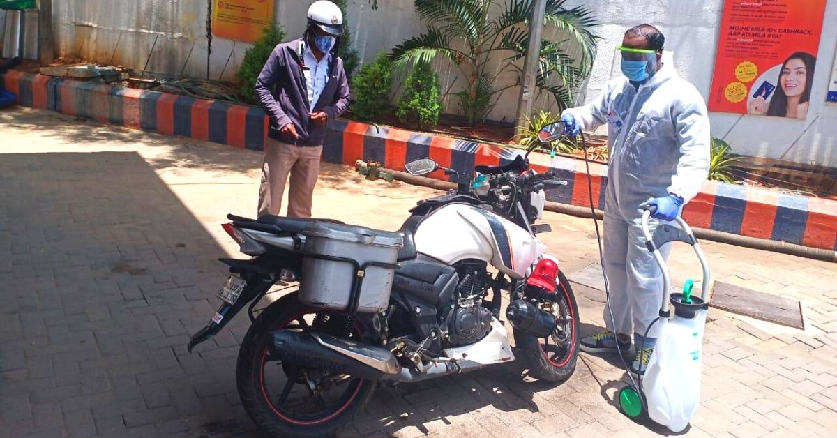 Get Your Car, Bike Sanitised For Free at Petrol Pumps. Here's How
