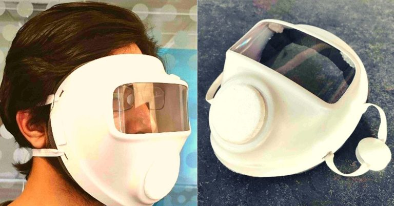 AIIMS, IIT-Delhi & a Design Studio Launch Unique 'All-in-One' Mask For More Safety