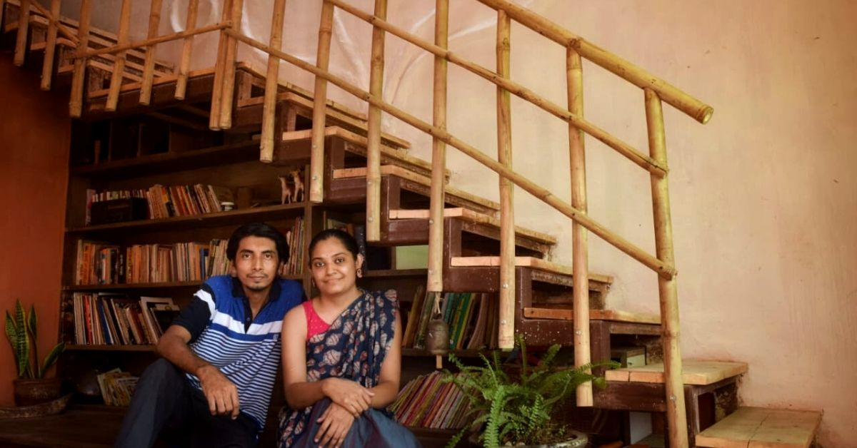 Made with 50% Less Cement, This Couple's House Remains Naturally Cool Without ACs