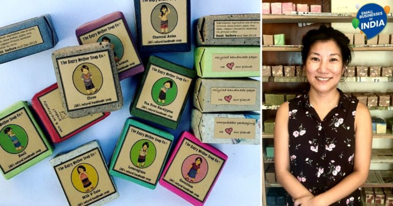 After Returning From the US, Naga Woman Now Earns Lakhs By Making Organic Soaps