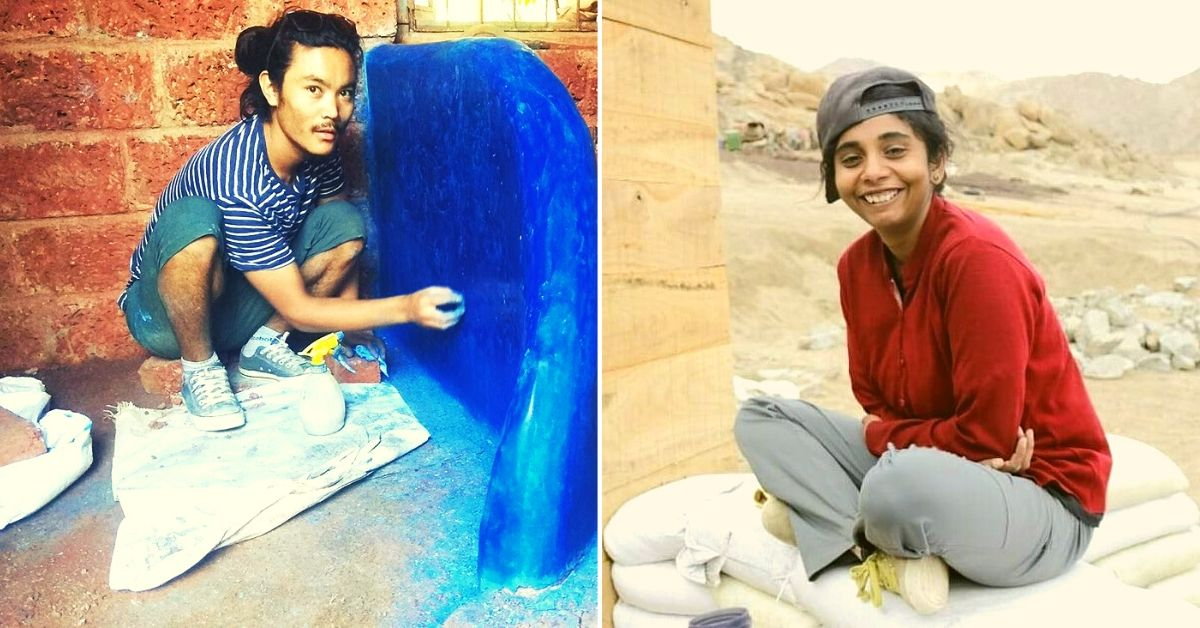 Meet the Two Nomad Architects Making Naturally Cool 'Earth Buildings' Across India