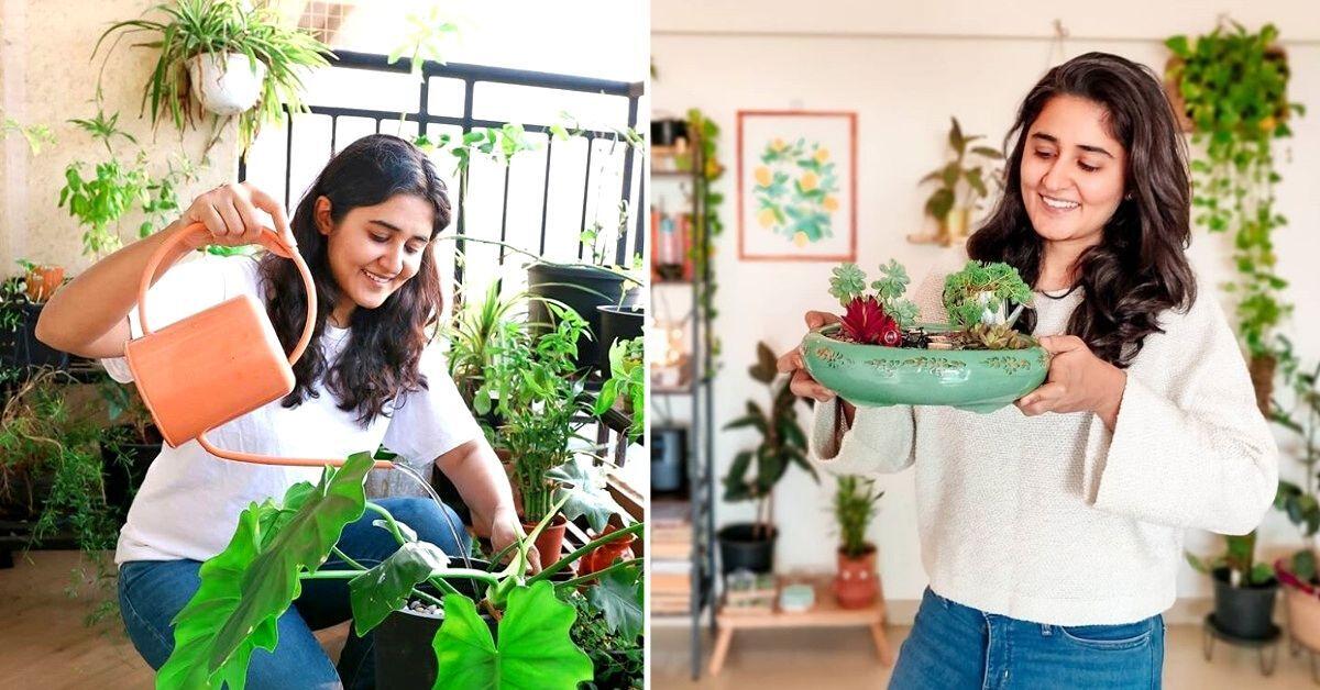 IISc Alumna Turns Apartment into Gardening Heaven, Earns 6.5 Lakh YouTube Fans