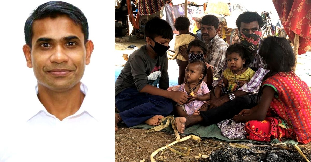 Soldier-Turned-IRS Officer Rallies Efforts, Aids Hundreds of Migrants in Bengaluru