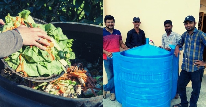 Your Food Waste Can Cut Your LPG Costs By Up To 60%. This Startup Shows You How!