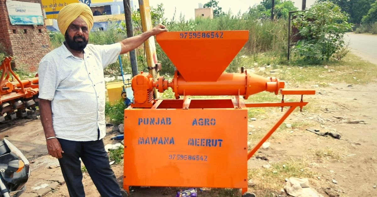 UP Man's Device Turns Cow Dung Into 'Wood', Helps Farmers Earn Rs 8000/Month