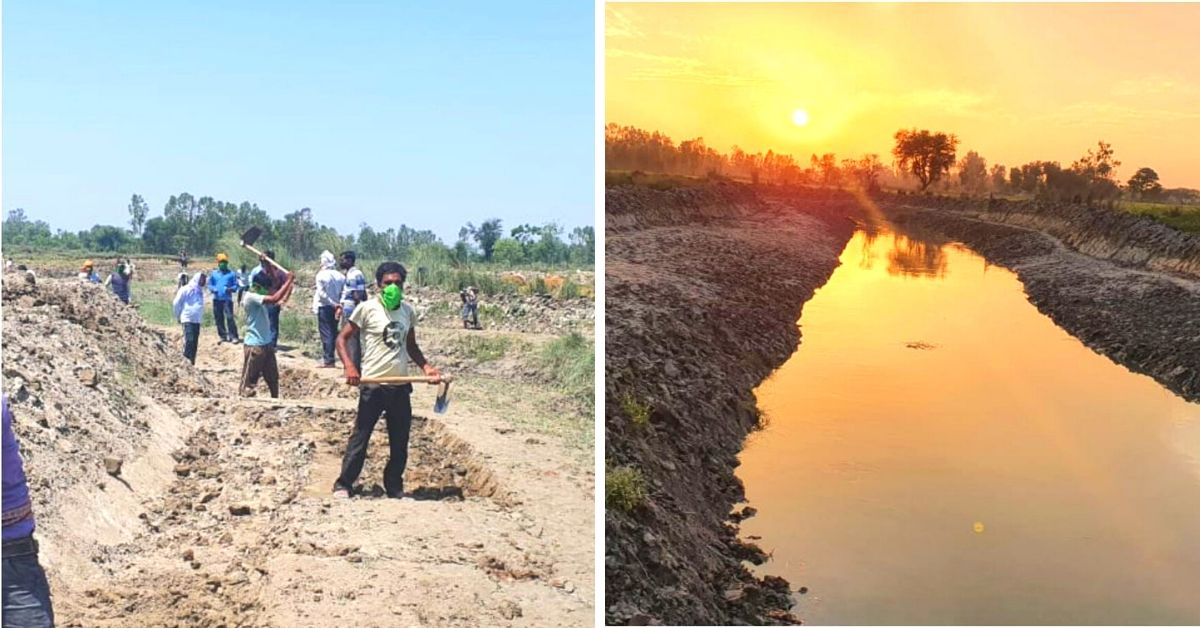 IAS Officer Uses Lockdown Time to Restore River, Generate Jobs for 800 People!