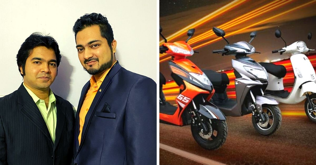 Bhopal Brothers Make 40% Cheaper E-Scooters That Cost Just Rs 5 For 80 Km!