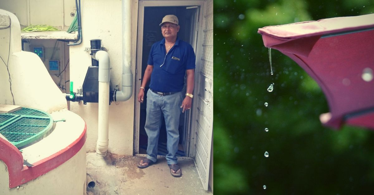 Bengaluru Man Saves 1 Lakh Litres of Water Every Year, Offers His Services For Free!