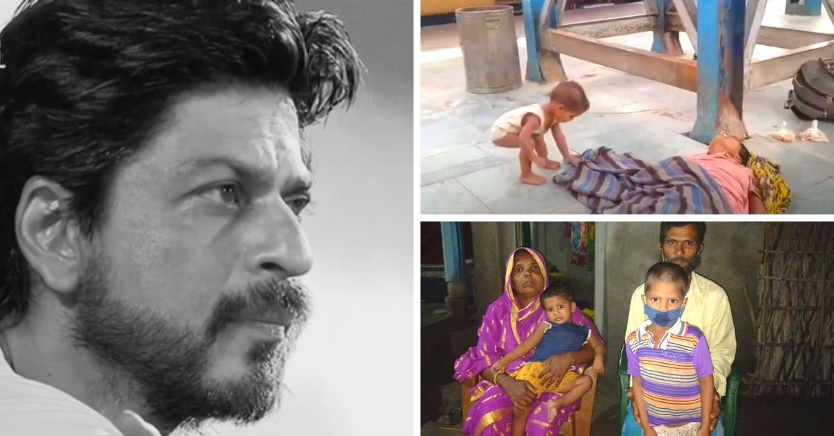 Remember the Kid Who Lost His Mom in a Railway Station? SRK is Now Supporting Him