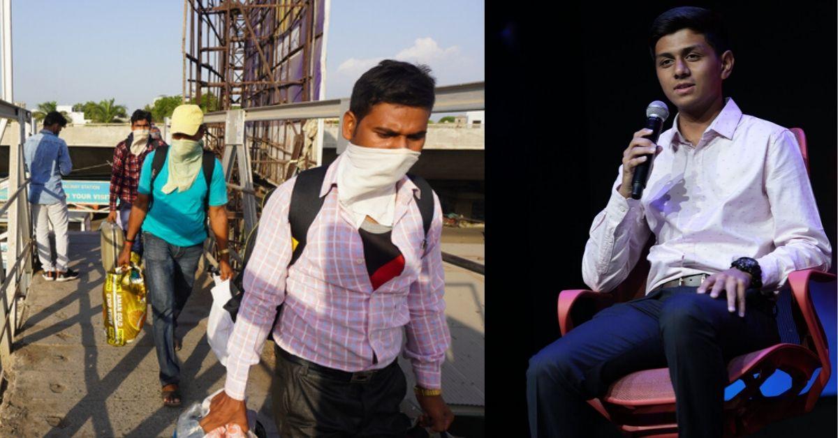 Now Help Unemployed Migrants Find Work, Via Noida Teen's Brilliant Idea!