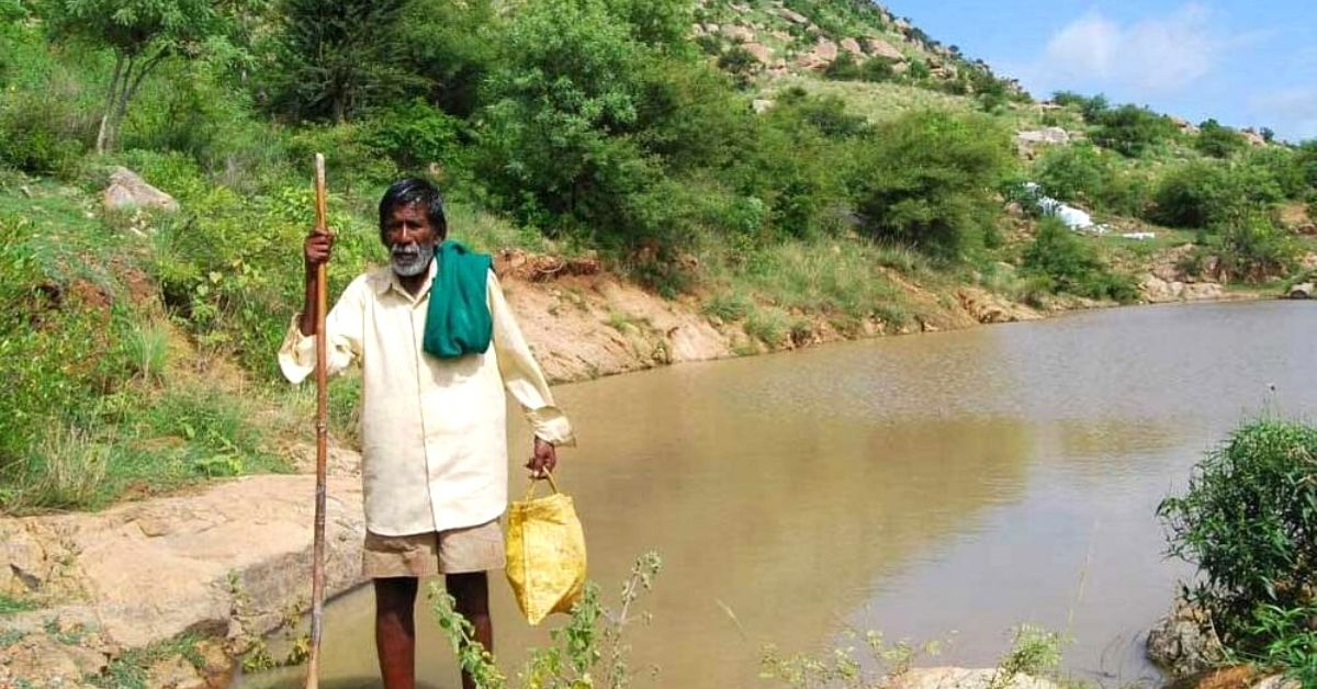 Meet The 84 YO Who Single-Handedly Dug 16 Ponds, Ending His Village's Water Issues