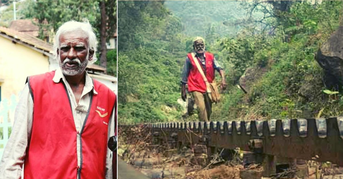 The 65-yo Postman Who Trekked 15 Km Of Forests Daily But Never Failed To Do His Job